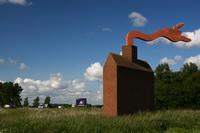 kunst langs de snelweg